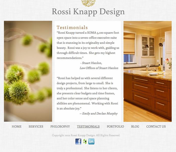 Rossi Knapp Design